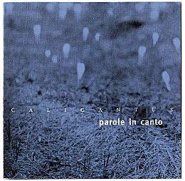 Parole in canto – 2001