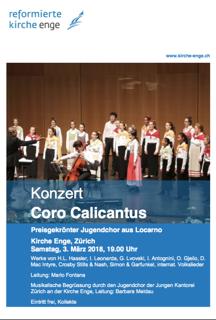 Concerto a Zurigo 3 Marzo 2018