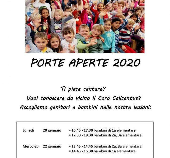 PORTE APERTE 2020