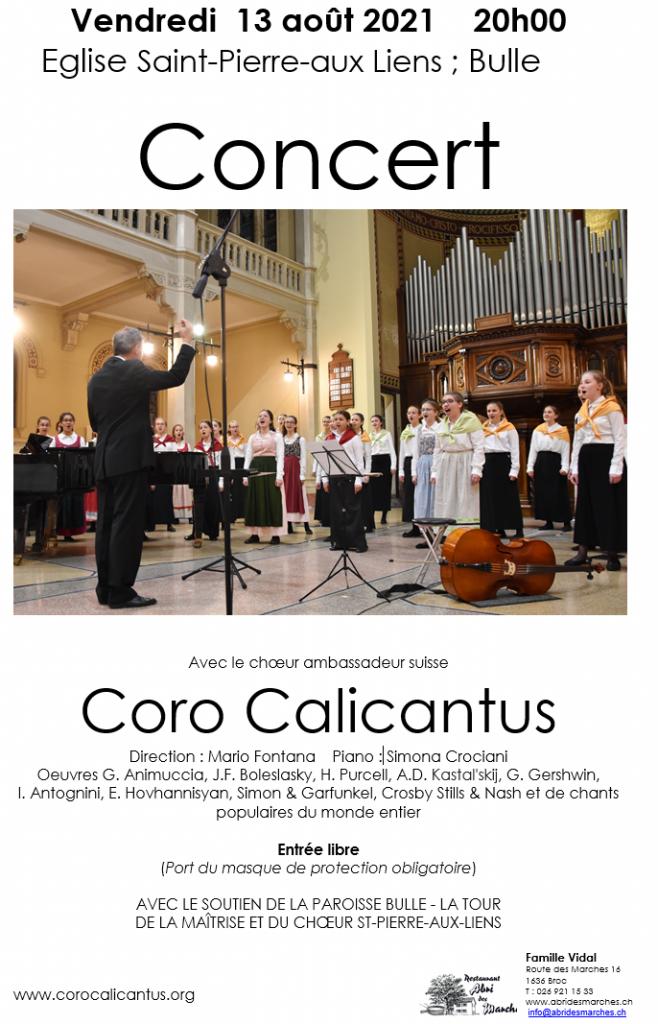 Concerto a Bulle (FR)